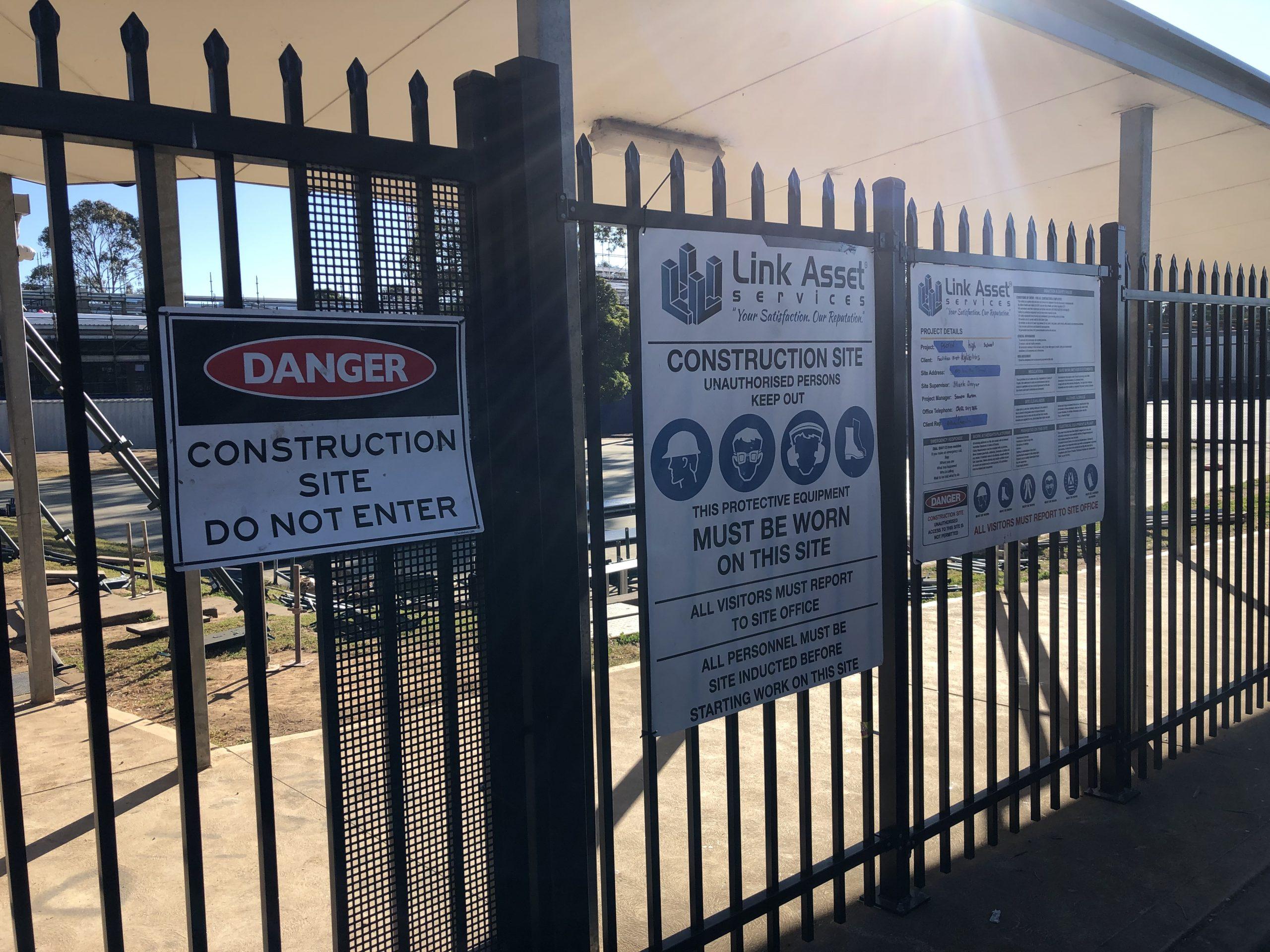 Link Asset Services Picton Site Fencing