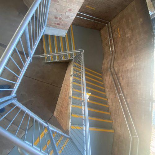 wilkins public school handrails install 4-min