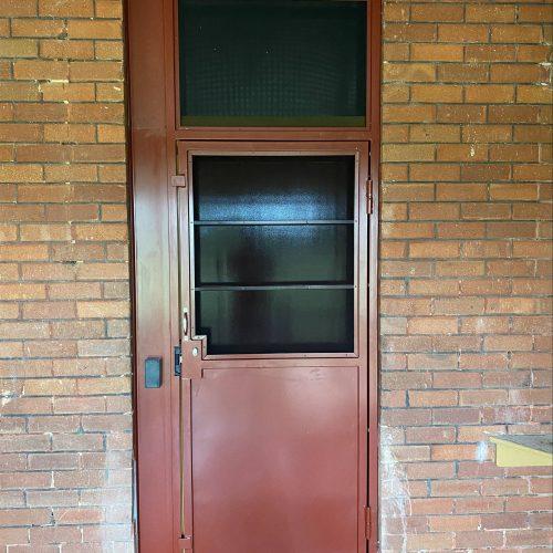 Ajuga School Security Door Installation 3