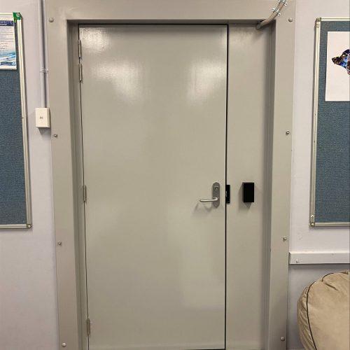 Ajuga School Security Door Installation Framework