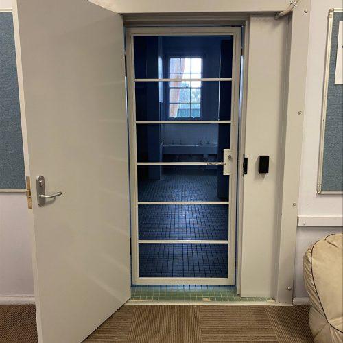 Ajuga School Security Door Installation and modifications
